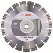 Диск диамантен за рязане Best for Concrete, 300 x 22,23 x 2,8 x 15 mm, 1 бр./оп., 2608602656, BOSCH