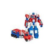 Boneco Transformers Generations Optimus Prime Hasbro Azul Vermelho E Branco