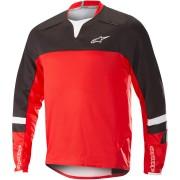 Alpinestars Drop Pro LS Jersey Negro Rojo L