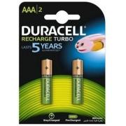 Acumulatori Duracell AAAK2, 800mAh, 2 bucati