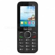 """""""alcatel 2045x one touch 2.4"""""""" caracteristica del telefono estandar SIM 64MB RAM 128MB ROM - negro"""""""
