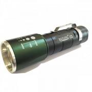 Lanterna aluminiu cu LED si Zoom Bailong BLB32