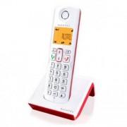 Alcatel Trådlös Telefon Alcatel S-250 DECT - SMS - LED - Vit Röd