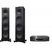 Pachete PROMO STEREO - KEF - Q950 + Cambridge Audio CXA80 Satin White