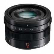 Panasonic 15mm F1.7 Leica DG Obiectiv MFT, Negru