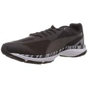 Puma Men's Mobium Unify Black-Tradewinds-Black Mesh Running Shoes - 9 UK/India (43 EU)