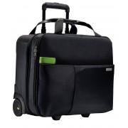 Geant? LEITZ Smart Traveller cu rotile - negru
