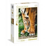 Puzzle Clementoni 500 piese - Bengal Tiger (35046 CLM)