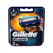 Gillette Fusion Proglide lama di ricambio 2 pz uomo