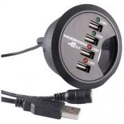 Hub USB Modecom MDC00067 InDesk60 4 Porturi