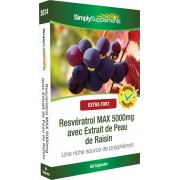 Simply Supplements Resveratrol-max-5000mg