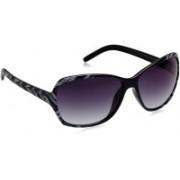 Image Over-sized Sunglasses(Blue)