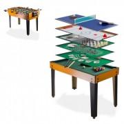 Dema Table multi jeux 13 en 1 baby foot billard tennis table bowling etc