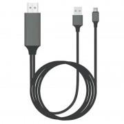 Universal Type-C to HDMI Adapter - 2m - Black