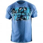Hayabusa Samurai Warrior T-Shirt - Blue S