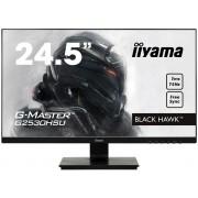 "Monitor TFT, IIYAMA 24.5"", G2530HSU-B1, Gaming FreeSync 75Hz, 1ms, 12Mln:1, HDMI/DP, Speakers, FullHD"
