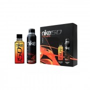 NIKE ON FIRE EAU DE TOILETTE SPRAY 150ML COFFRET 2 PARTI