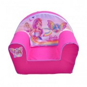 Fotoliu din Burete Pentru Copii Have Fun Happy Children - Barbie
