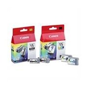 Canon Pack cartuchos BCI-15 (negro) + BCI-15(color)