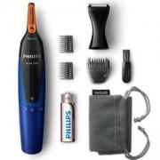 Водоустойчив тример Philips Series 5000 - за подстригване на детайли, NT5175/16