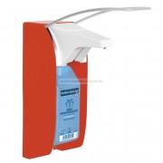 Hartmann BODE Euro dispenser 1 plus fém fali adagoló PIROS színű 1000ml