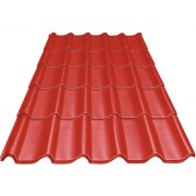 Tigla metalica Precit Roof 2490x1170x0,4 mm rosie