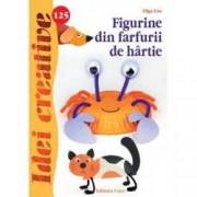Figurine din farfurii de hartie. Idei creative 125