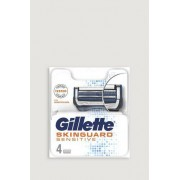 Gillette Rakblad Skinguard Sensitive 4ct Grå