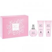 Lanvin Eclat De Fleurs Комплект (EDP 100ml + BL 100ml + SG 100ml) за Жени