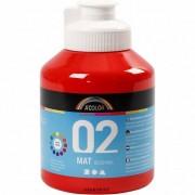 A-Color A Color acrylverf mat 500ml rood