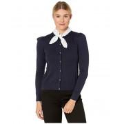 LAUREN Ralph Lauren Cotton Modal Long Sleeve Cardigan Lauren Navy