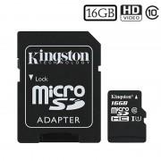 Cartão de Memória MicroSDHC Kingston Canvas Select SDCS/16GB - 16GB