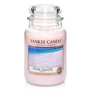 Yankee Candle Pink Sands Large Jar Retail Box No