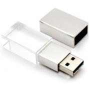 wefuse 64GB Crystal Pendrive, Metal USB Flash Drive Pen Drive 64 GB Pen Drive(Multicolor)
