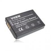 vhbw Li-Ion batterie 950mAh (3.7V) pour OREGON Scientific ATC9k Action Camera remplace B-ATC9K.