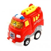 "VTech 500403"" Toot-Toot Drivers Press N Go Fire Engine Toy"