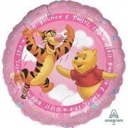 Balon folie Winnie the Pooh It's a girl 45 cm