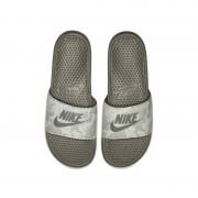 Nike Badtoffel Nike Benassi JDI Printed för män - Grå