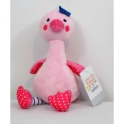 "9"" Carters Just One You Pink Bird Flamingo Ostrich Baby Plush"