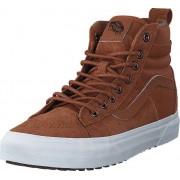 Vans UA SK8-Hi 46 MTE DX (MTE) Glazed Ginger/Flannel, Skor, Sneakers & Sportskor, Höga sneakers, Brun, Herr, 39