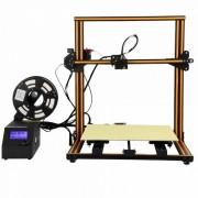 Creality 3D CR-10 Kit de impresora de escritorio bricolaje 3D ampliada-Naranja (enchufe de la UE)