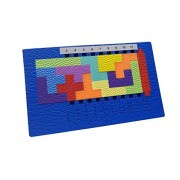 Supreme Smart Brain Pentomino EVA Foam Puzzle for Both Children & Adults- Over 400 Puzzles & Solutions Inside