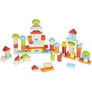 Lego Set med 100 träklossar från Classic World