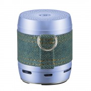 EWA A113 Portable Super Mini Bluetooth Speaker Subwoofer Wireless Computer Speaker - Blue