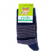 Rede Junior kék csíkos gyerek zokni