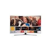 Smart TV LED Curva 55 Samsung 55MU6500 UHD 4k com Conversor Digital 3 HDMI 2 USB HDR Premium Smart Tizen Controle Remoto Único Design 360º - Prata
