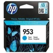 Мастилена касета HP 953 Cyan Original Ink Cartridge, F6U12AE