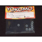 Yokomo YS-7S Shock O rings, thick soft type (8pcs)