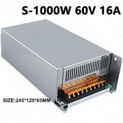 60V 16A 1000W Switch Power Supply Driver Display Switching Power Supply 60v for LED Strip Power Driver