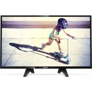 "Televizor TV 32"" LED PHILIPS 32PHT4132/12 ,1366x768 (HD Ready), HDMI, USB, T2"